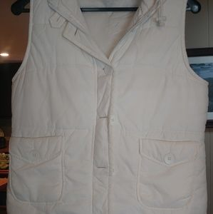 Caslon hooded snow vest